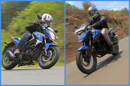 Honda X-Blade vs Honda CB Hornet 160R: Real World Performance Compared