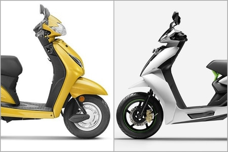 Honda Activa 5G vs Ather 450: Performance Comparison