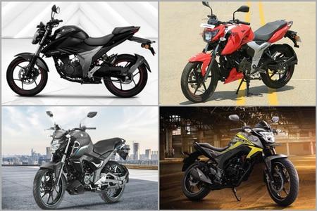 2019 Suzuki Gixxer vs Yamaha FZ-S FI V3.0 vs TVS Apache RTR 160 4V vs Honda CB Hornet 160R: Spec Comparison