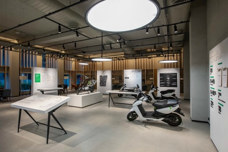 Ather Opens Snazzy New Dealership In Chennai