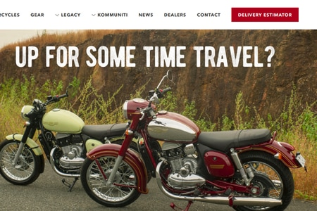 Delivery Estimator For Jawa, Jawa Forty Two Introduced