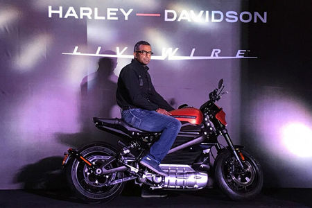 Harley-Davidson LiveWire Unveiled In India