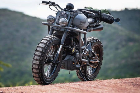 This Custom Yamaha XSR155 Is Ready To Take On The Apocalypse