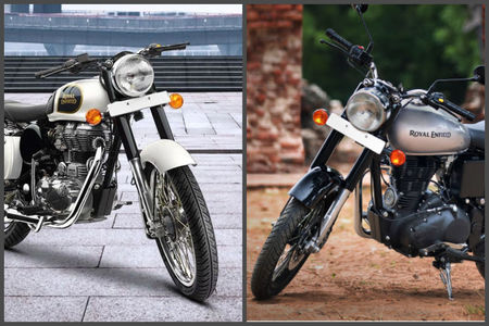 Royal Enfield Classic 350 S Vs Classic 350 Differences: Photo Gallery