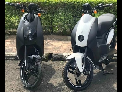 Mahindra Exports Peugeot Electric Scooter To France