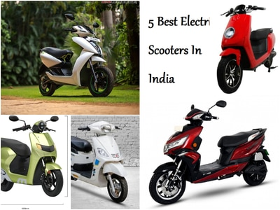 5 Best Electric Scooters In India
