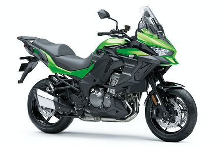 Kawasaki Verys 1000 Updated With A New Colour