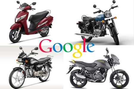 Google Announces India's Top 5 Most Searched Bikes In 2019