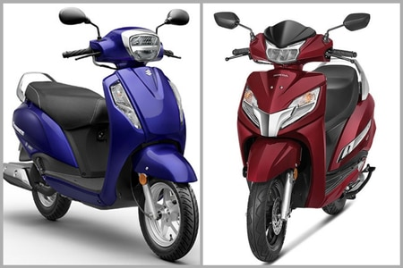 Suzuki Access 125 BS6 vs Honda Activa 125 BS6: Spec Comparison