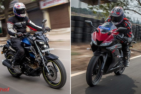 Yamaha YZF R15 V3 vs MT-15: Real-world Performance Comparison