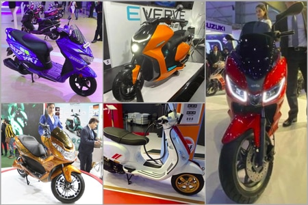 Top 5 Scooters Of Auto Expo 2020