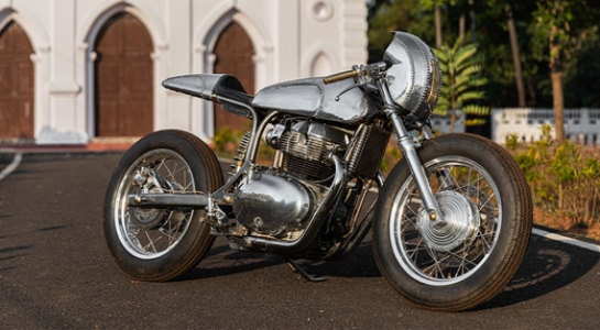 Royal Enfield Continental GT 650-Based Chai Shop Racer Is A Desi Take On Cafe Racer