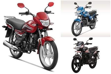 Honda CD 110 Dream Deluxe vs Hero HF Deluxe vs TVS Sport: Spec Comparison