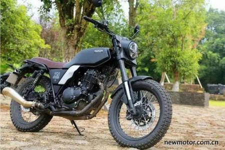 This 250cc Chinese Retro Bike Is A Suzuki At Heart