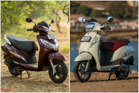Honda Activa 125 BS6 vs Suzuki Access 125 BS6: Image Comparison