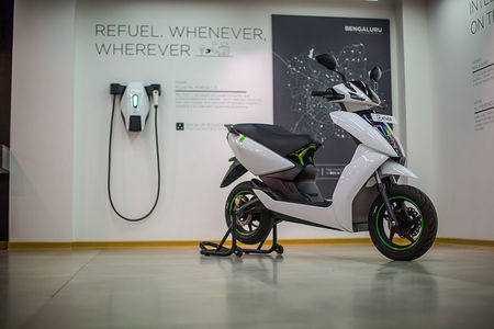 You Can Now Exchange Your Honda Activa For An Ather 450 Electric Scooter