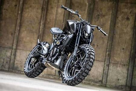 This Custom Bajaj Dominar 400 Scrambler Is Ready To Reap Your Soul