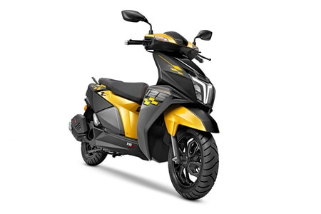 BREAKING: TVS NTorq 125 Race Edition Yellow And Black Livery Launched