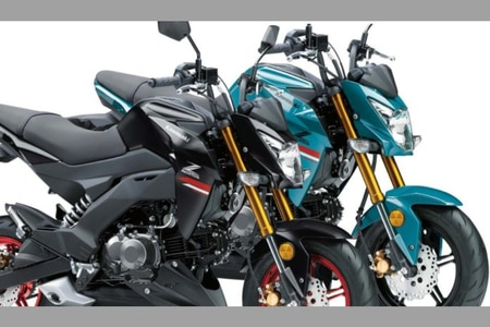 2021 Kawasaki Z125 Pro Launched With New Colour Schemes