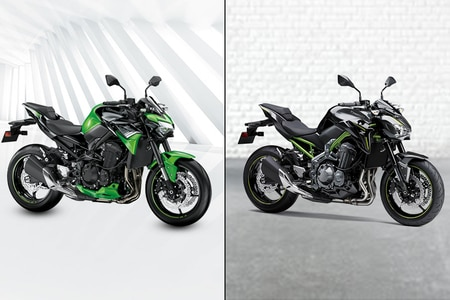 Kawasaki Z900: BS4 vs BS6 Image Comparison