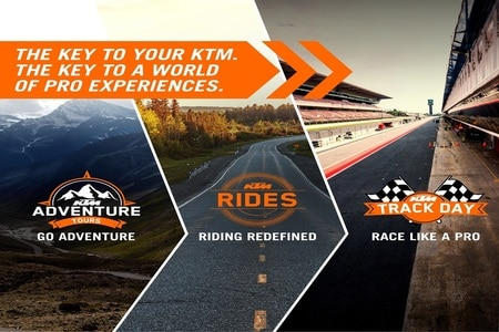 KTM India Announces Pro Experiences For Owners