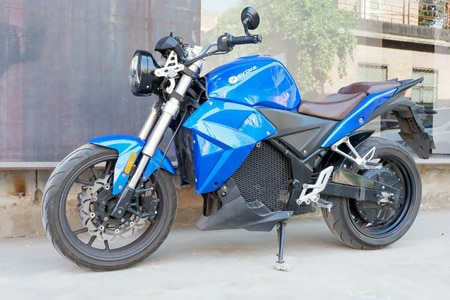 Evoke Urban Classic Electric Motorcycle Spotted In India, Could Be Brand's First Bike Here