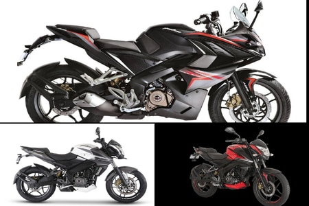 Bajaj Pulsar NS200, NS 160 And RS 200 Receive A Price Hike