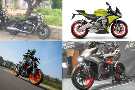 Weekly Two-wheeler News Wrapup: Royal Enfield 650cc Cruiser Spotted, India-bound Aprilia Tuono 660 Ready, Next-gen KTM 390 Duke Might Get Cruise Control And More