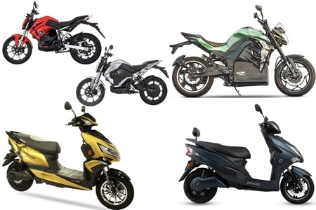 Top 5 EV Two-Wheelers With Best Range In India