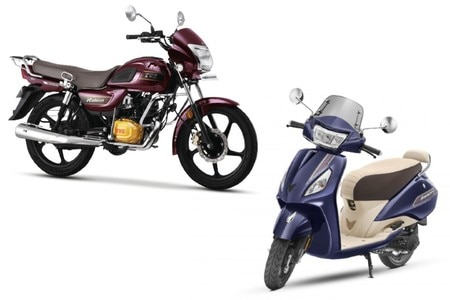 Top 5 TVS Two-wheelers Sold In India: Jupiter, XL 100, Apache, & More
