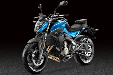 BS6 CFMoto 650NK Teased Ahead Of India Launch