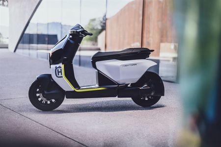 Husqvarna Vektorr e-Scooter Concept Unveiled