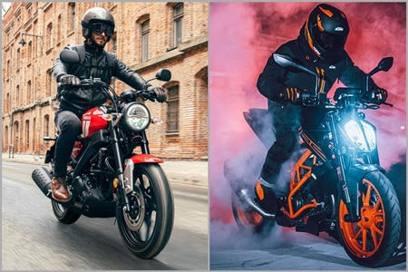 Yamaha XSR125 vs KTM 125 Duke: Specifications Compared