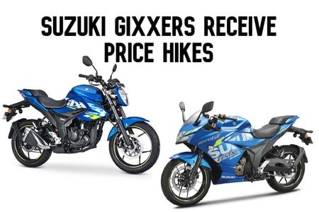 Suzuki Gixxer, Gixxer 250 And SF Models Prices Hiked