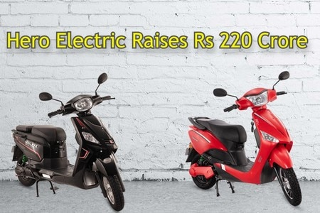 Hero Electric Raises Rs 220 Crores For Its Expansion Plans
