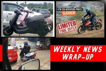 Weekly Two-wheeler News Wrap: Ola Electric Scooter Spotted, Suzuki Burgman Electric Spied, Honda ADV Incoming, And More