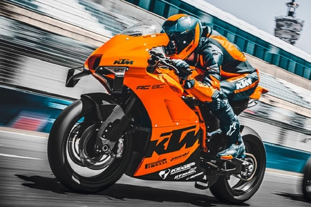 Track-only KTM RC 8C Debuts Globally