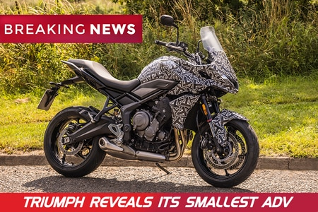 BREAKING: Triumph Tiger Sport 660 Revealed. Will Be The Most Affordable Triumph ADV