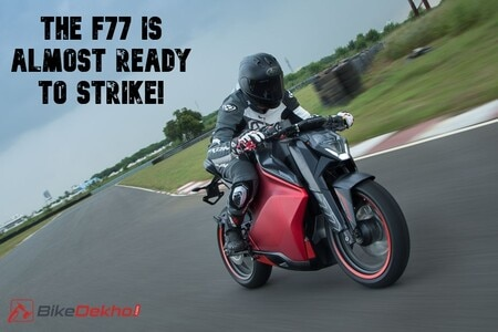 Ultraviolette F77 Electric Bike's India Launch Timeline Revealed