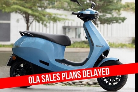Ola Postpones Sales Of The S1 And S1 Pro Electric Scooters