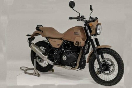 Royal Enfield Scram 411 Spotted Testing Yet Again