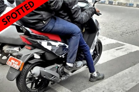2022 Aprilia SR 160 Facelift Spotted Testing For The First Time