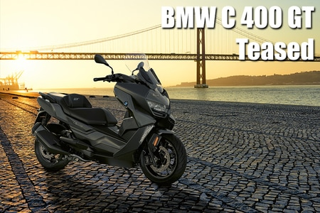 BMW C 400 GT Maxi-scooter Teased Once Again, Launch Soon
