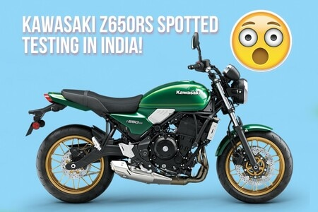2021 Kawasaki Z650RS Spotted Testing In India, Launch Soon