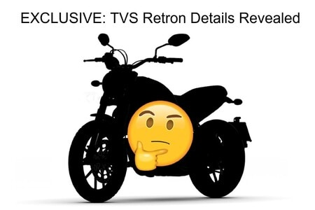 EXCLUSIVE: TVS Retron Spied; Expected Launch, Price And Other Details Revealed