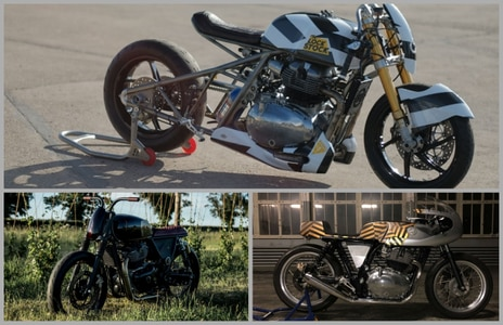 Royal Enfield 650-Twin Custom Bikes - Full Specs And Features