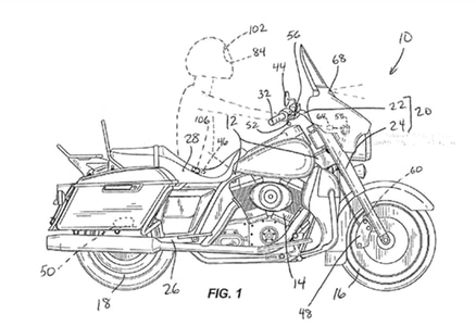 Harley-Davidson Applies For Patent On Autonomous Braking Technology