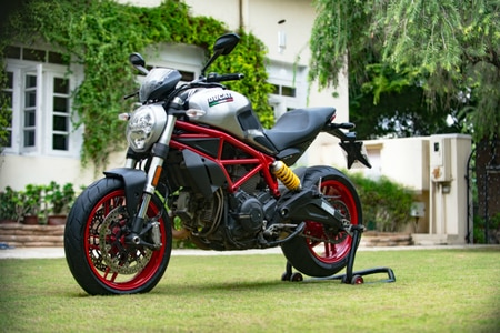 Custom Ducati Monster 797 For Its 25th Anniversary