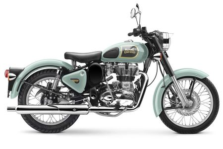 Royal Enfield Classic 350 Rear Disc Variant Launched