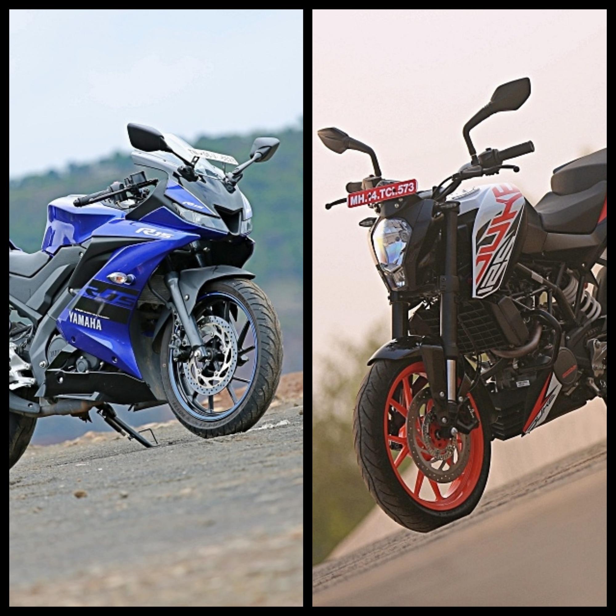 Yamaha YZF R15 V 3.0 ABS Vs KTM 125 Duke: Spec Comparison
